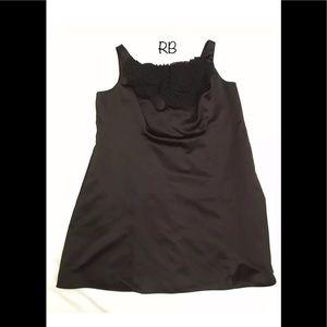 🌈 David's Bridal Black Sleeveless Dress Plus 26